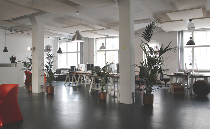 design offices, location, co-working, event